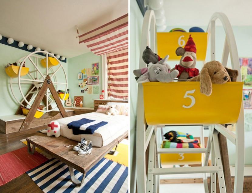 22個新奇有趣的兒童房設計 7