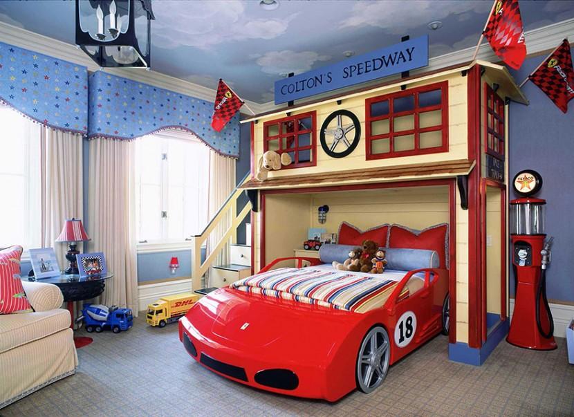 22個新奇有趣的兒童房設計 15