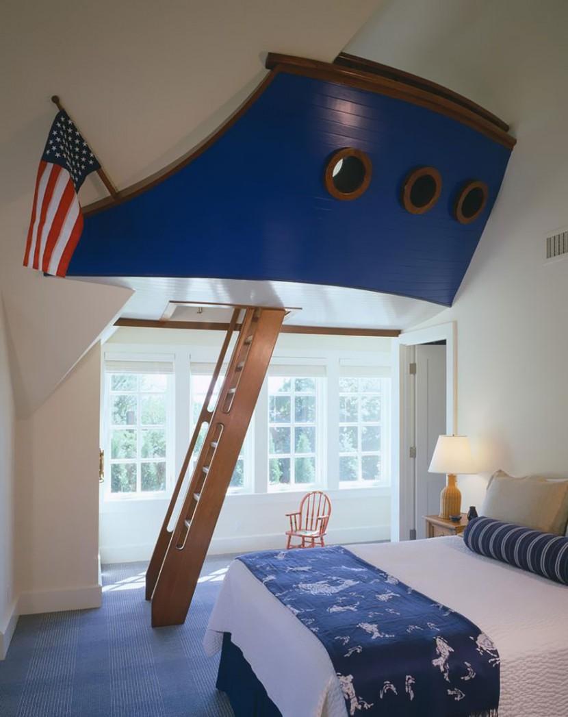 22個新奇有趣的兒童房設計 16