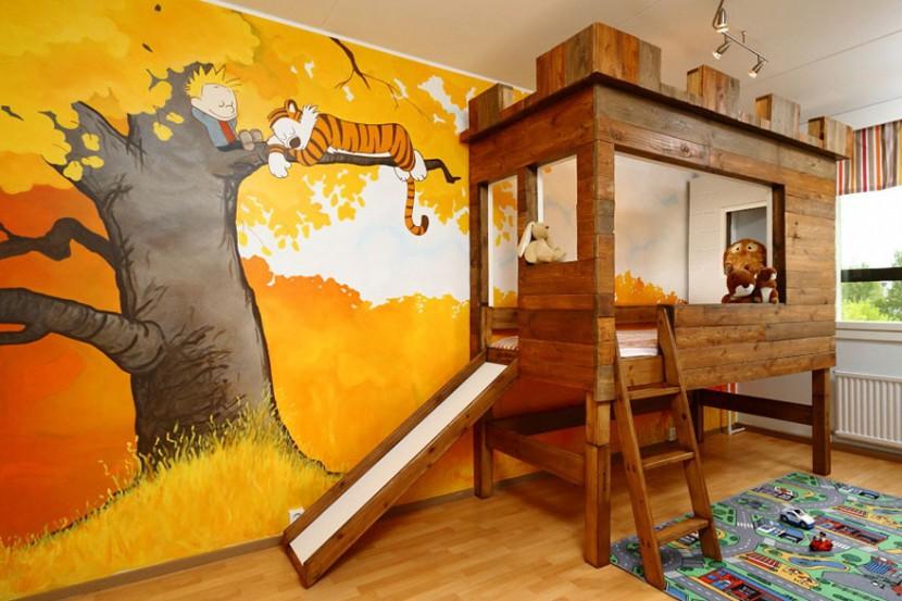 22個新奇有趣的兒童房設計 17