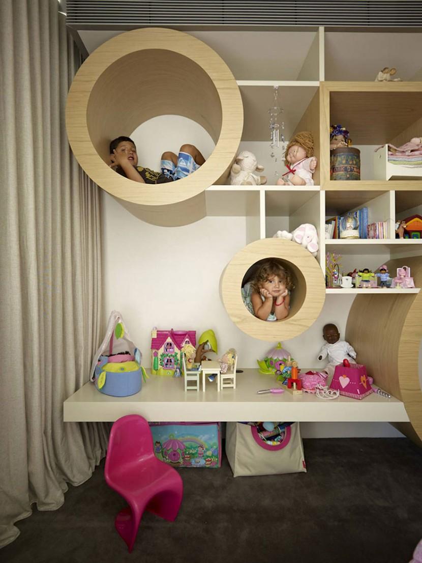 22個新奇有趣的兒童房設計 21