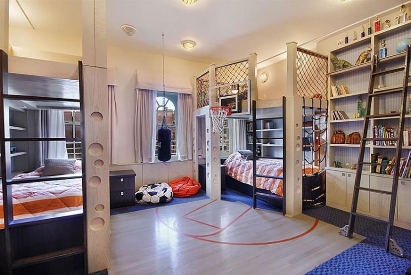 22個新奇有趣的兒童房設計 26