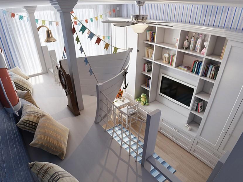 22個新奇有趣的兒童房設計 28