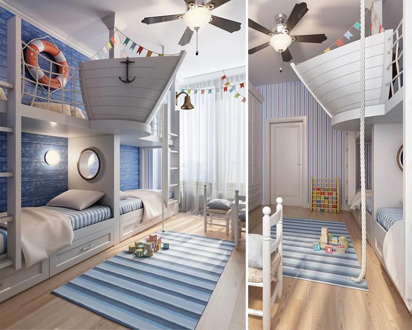 22個新奇有趣的兒童房設計 29