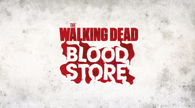 A 'Walking Dead' Pop-Up Store Where Customers Pay With Their Blood 2