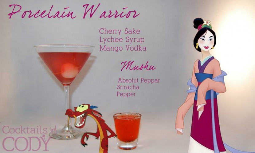 Bartender的滿點創意:女孩們無法招架的公主系調酒 20