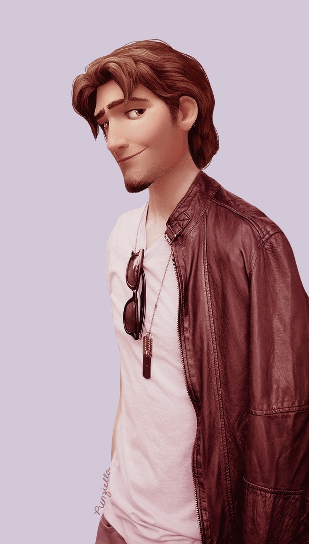 Disney Characters Would Look Like In The Modern World 7