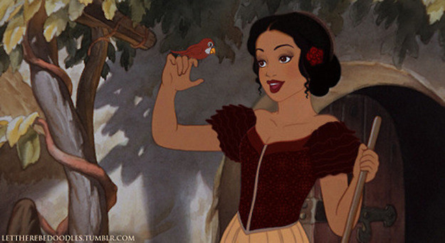 Disney Princesses Reimagined As Different Ethnicities 2
