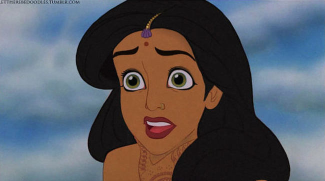 Disney Princesses Reimagined As Different Ethnicities 12