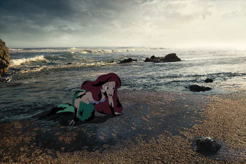 Disney princesses unhappily in real world 7