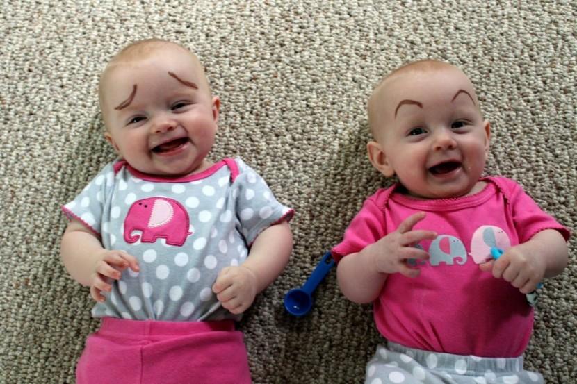 畫眉不再是成年人的專利!網絡掀起為嬰兒畫眉的新熱潮 7