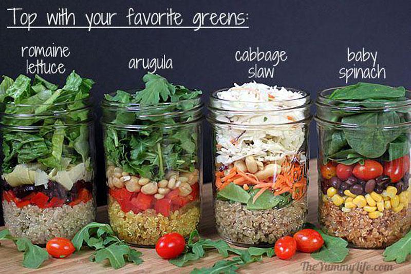 健康飲食新趨勢,自己做罐裝沙拉 25