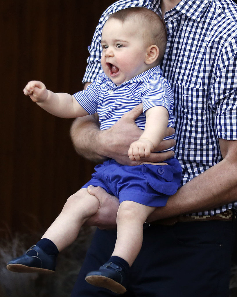 Prince George's Facial Expressions Just Like the Royals 3