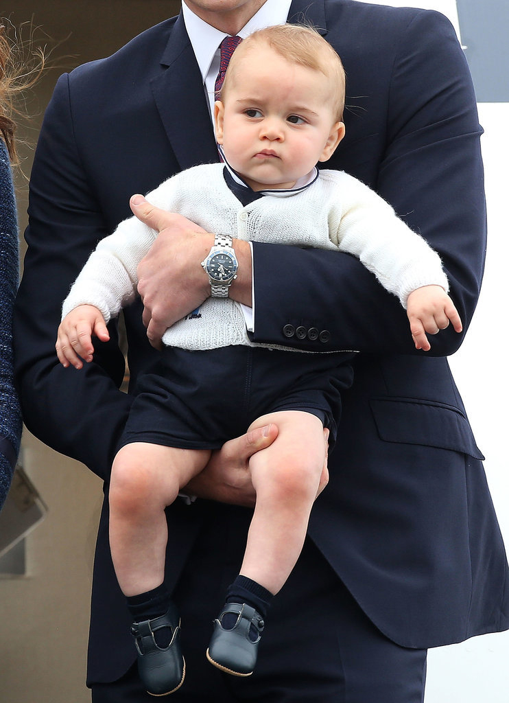 Prince George's Facial Expressions Just Like the Royals 5