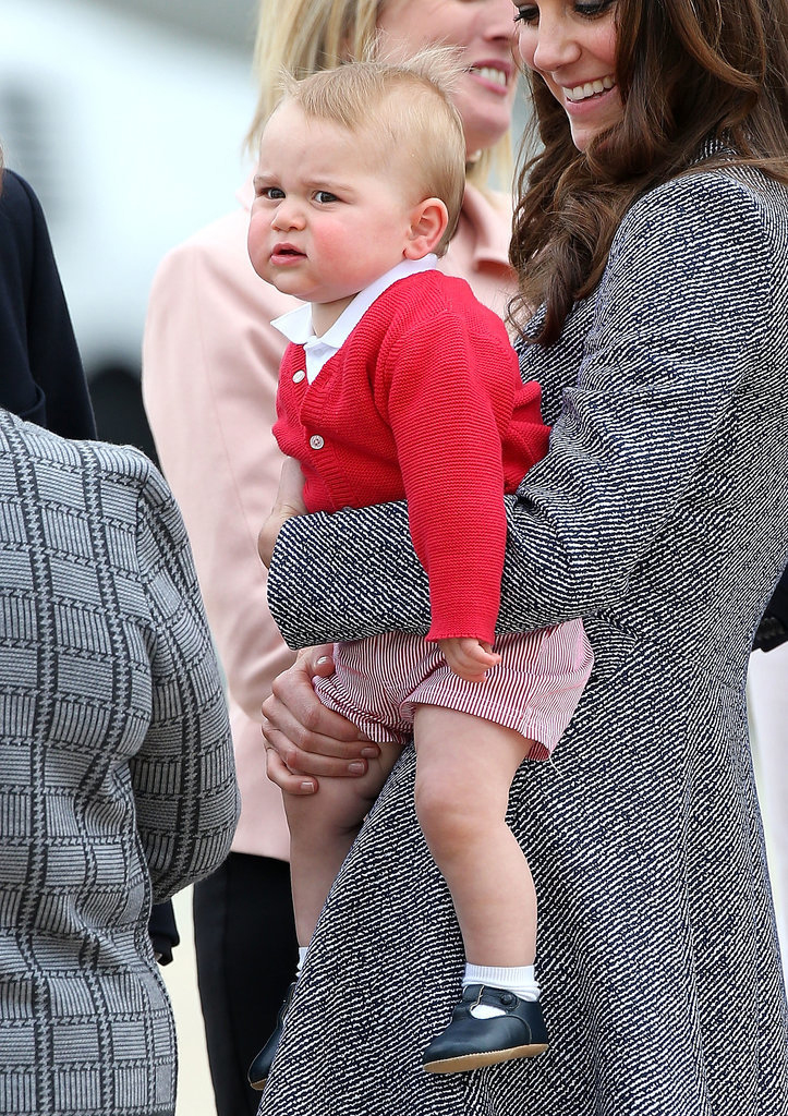 Prince George's Facial Expressions Just Like the Royals 9