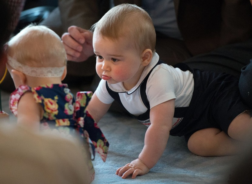 Prince George's Facial Expressions Just Like the Royals 13