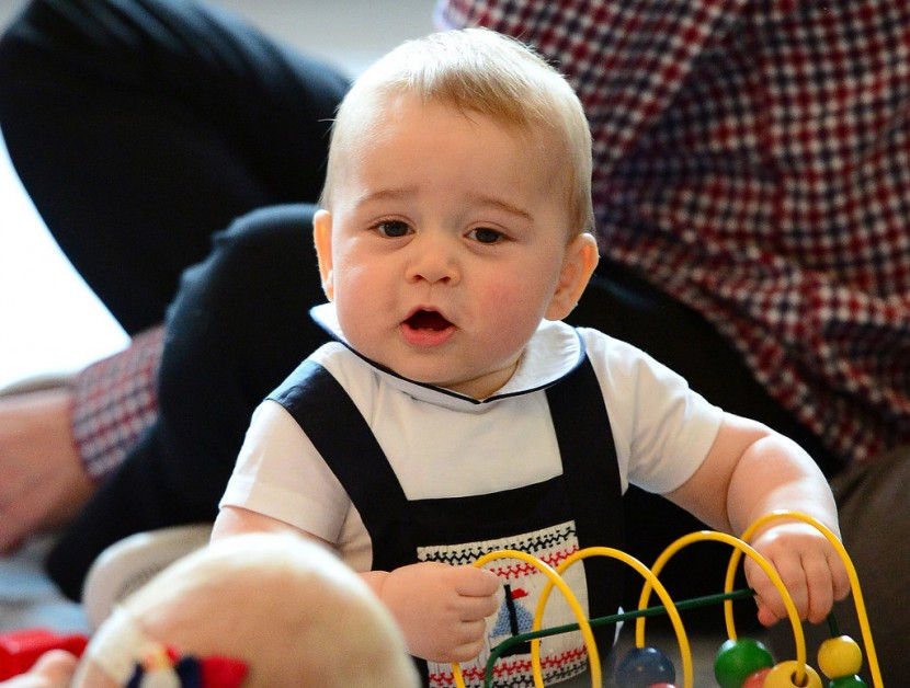 Prince George's Facial Expressions Just Like the Royals 19