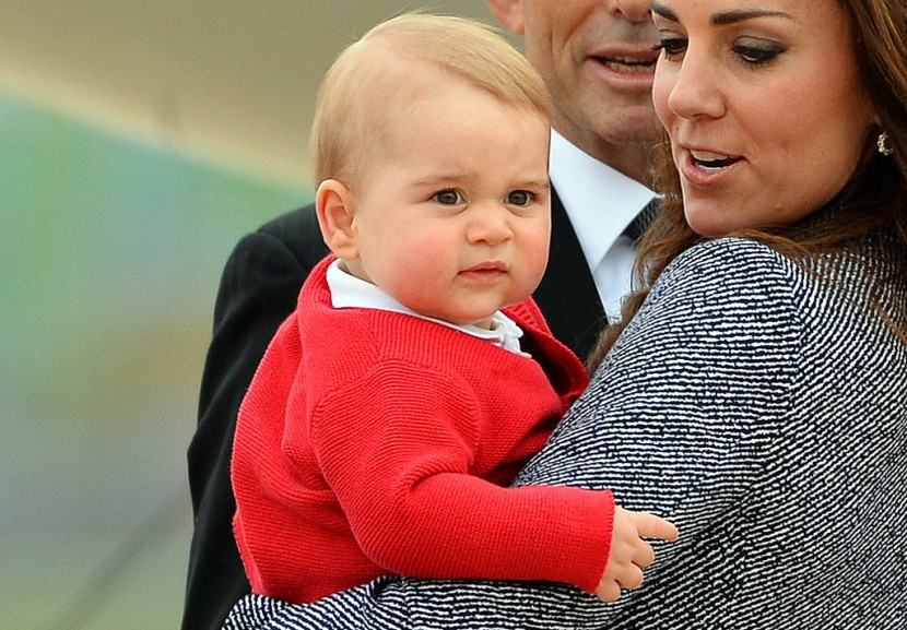 Prince George's Facial Expressions Just Like the Royals 21