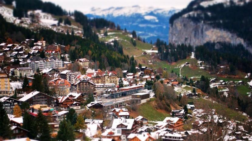 beautiful Mountain-village 7