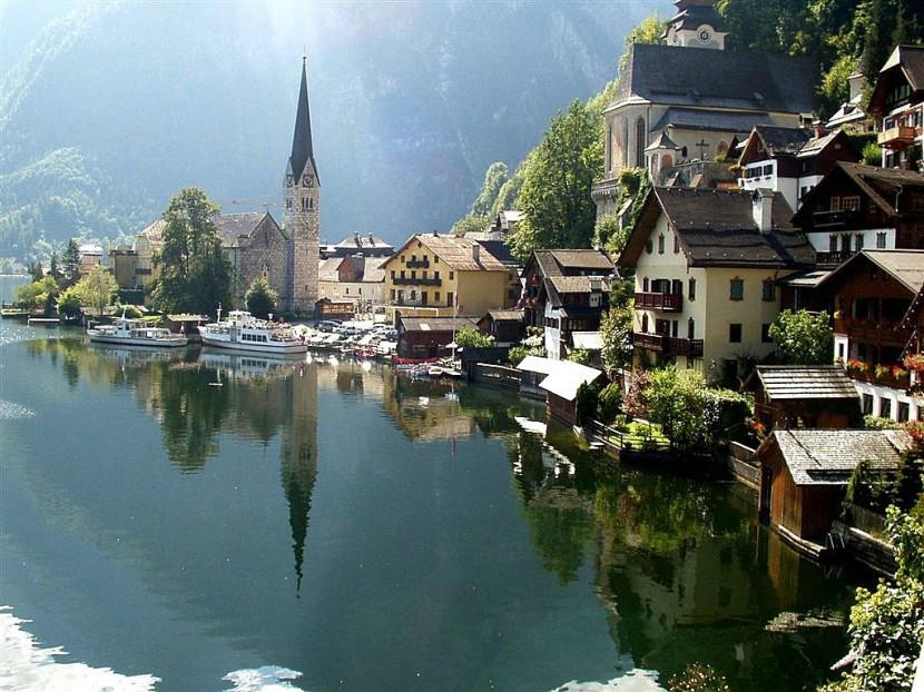 beautiful Mountain-village 23