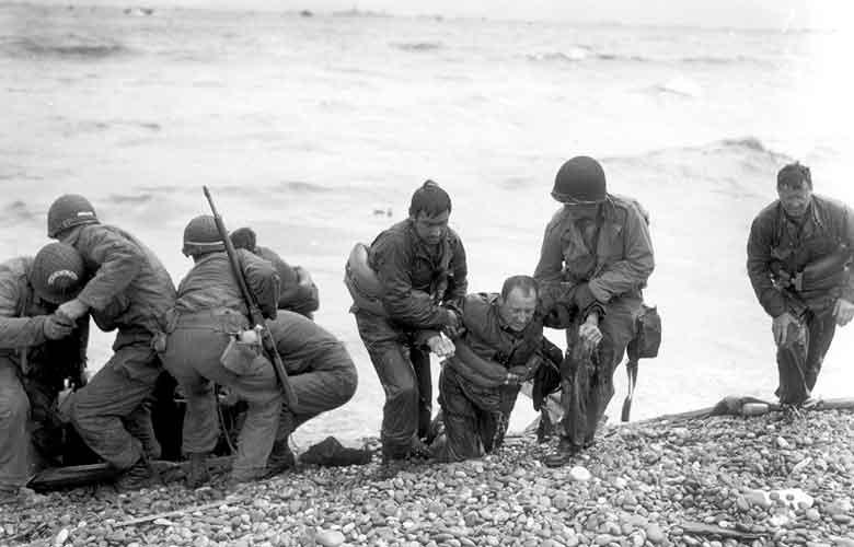Normandy登陸的過去與現在:70年後的Normandy海灘 6