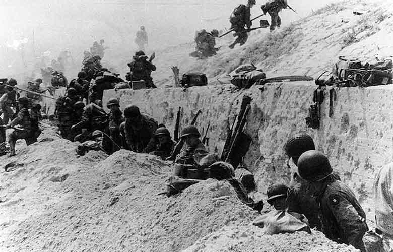 Normandy登陸的過去與現在:70年後的Normandy海灘 8
