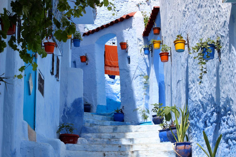 彷彿踏入童話故事中,迷人的摩洛哥藍色老城 ‧ A Day Magazine