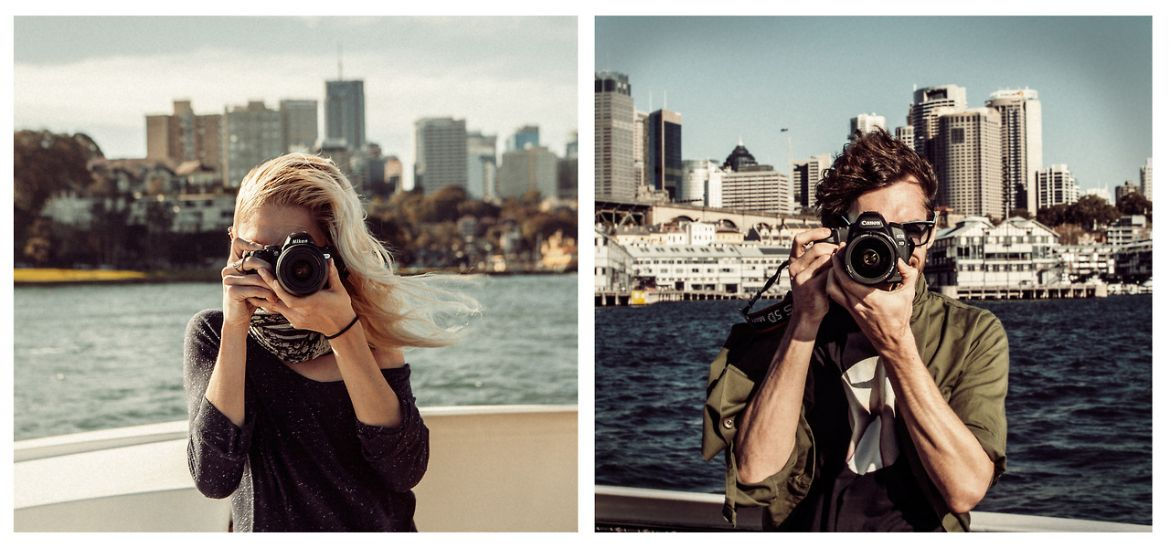 Meet The Creative Couple That Travels The World To Take Photos Of Each Other 16