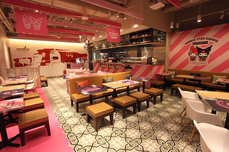 全港首家My Melody & Kuromi Pop-up Café空降朗豪坊! 21