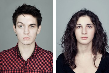 如果兩張臉組合在一起,你能發現哪裡不一樣嗎?
