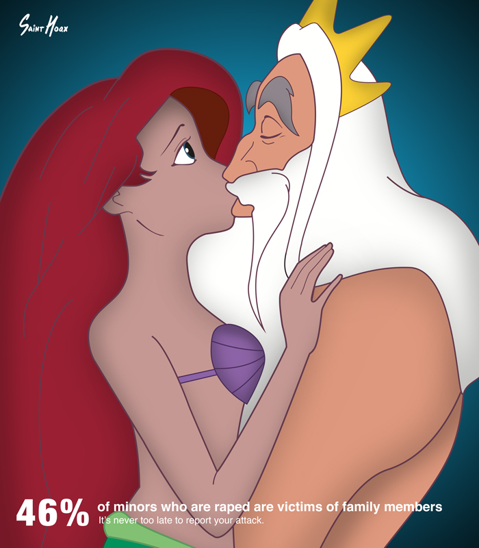 跟爸爸熱吻?這不是我所認識的迪士尼公主! 2