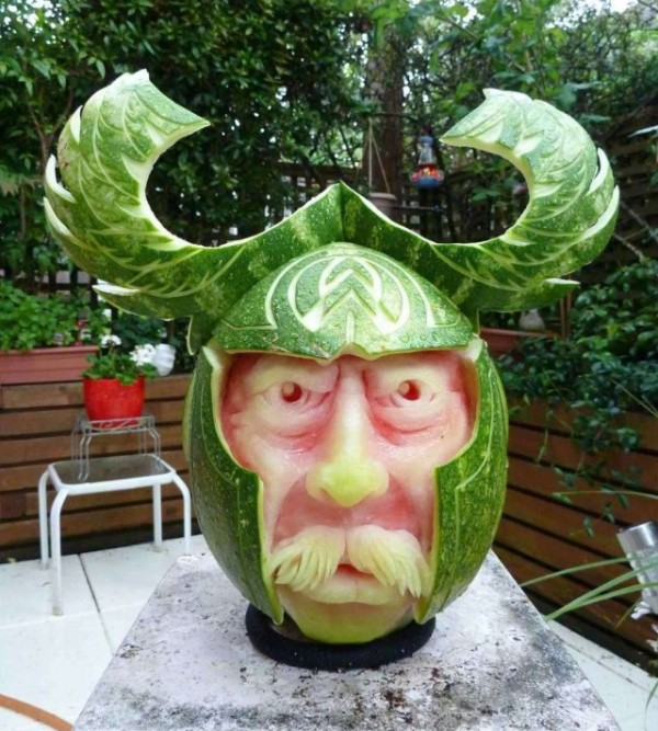 These Awesome Watermelon Carvings 2