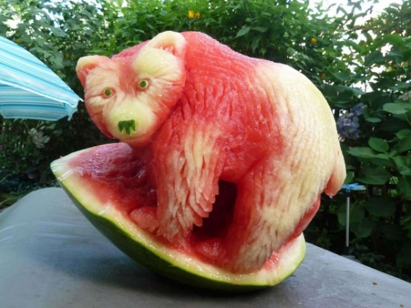 These Awesome Watermelon Carvings 4