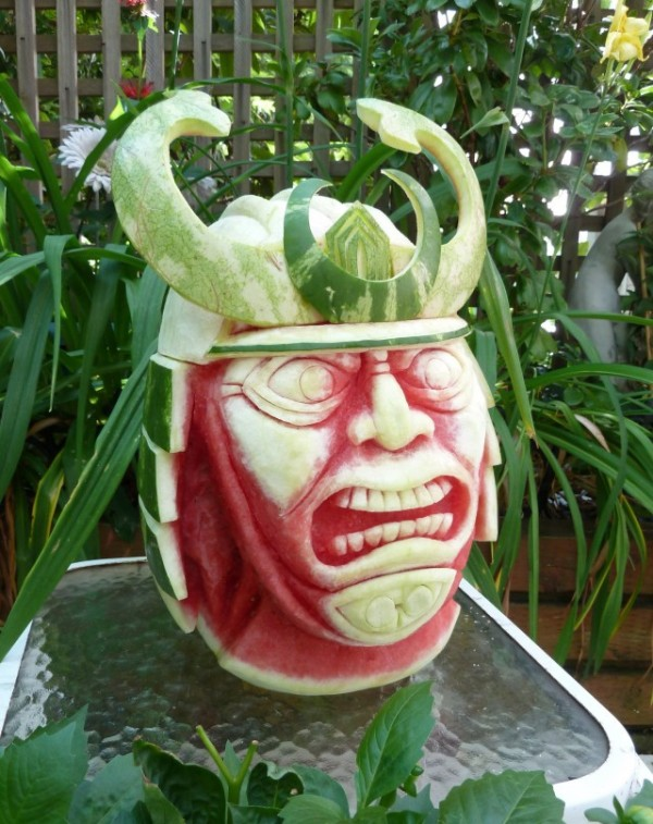 These Awesome Watermelon Carvings 6
