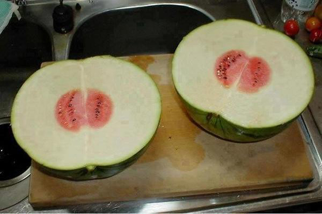 This watermelon might be the most disappointing thing you see today 2
