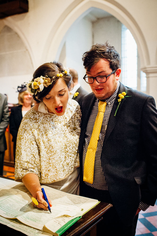 Fun-Loving Couple Throws A Playful, Children's Birthday Party-Themed Wedding 12