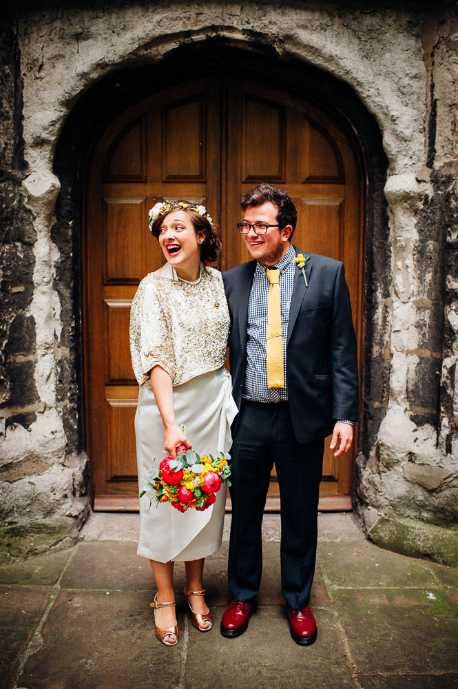 Fun-Loving Couple Throws A Playful, Children's Birthday Party-Themed Wedding 13