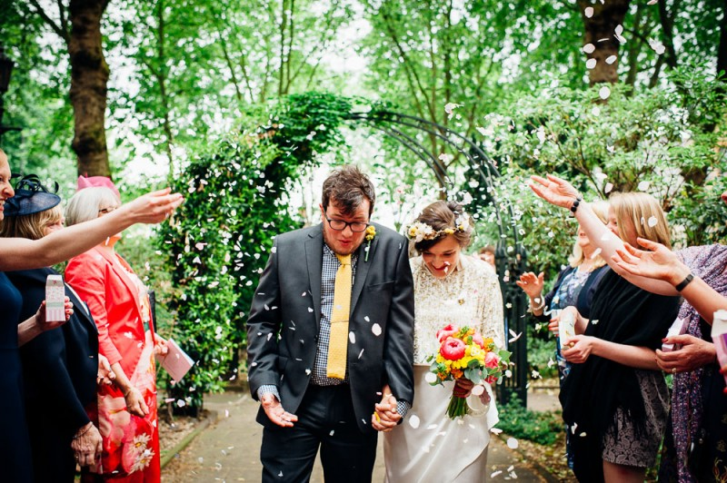 Fun-Loving Couple Throws A Playful, Children's Birthday Party-Themed Wedding 14