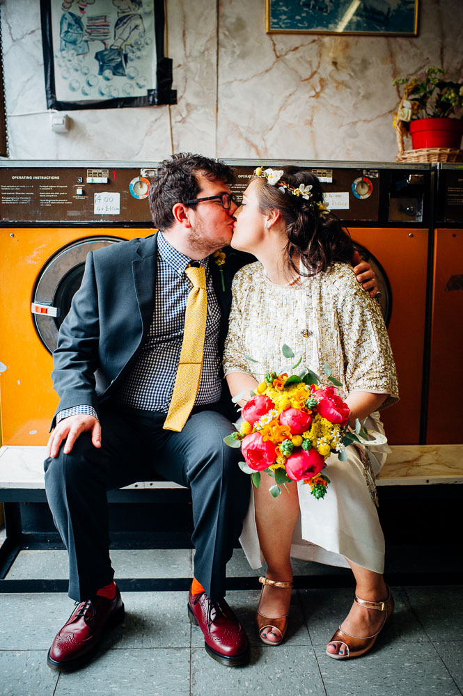 Fun-Loving Couple Throws A Playful, Children's Birthday Party-Themed Wedding 15