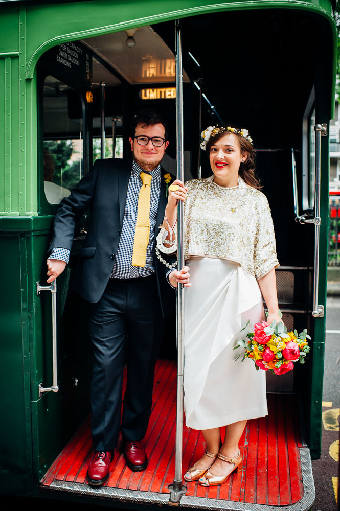 Fun-Loving Couple Throws A Playful, Children's Birthday Party-Themed Wedding 16