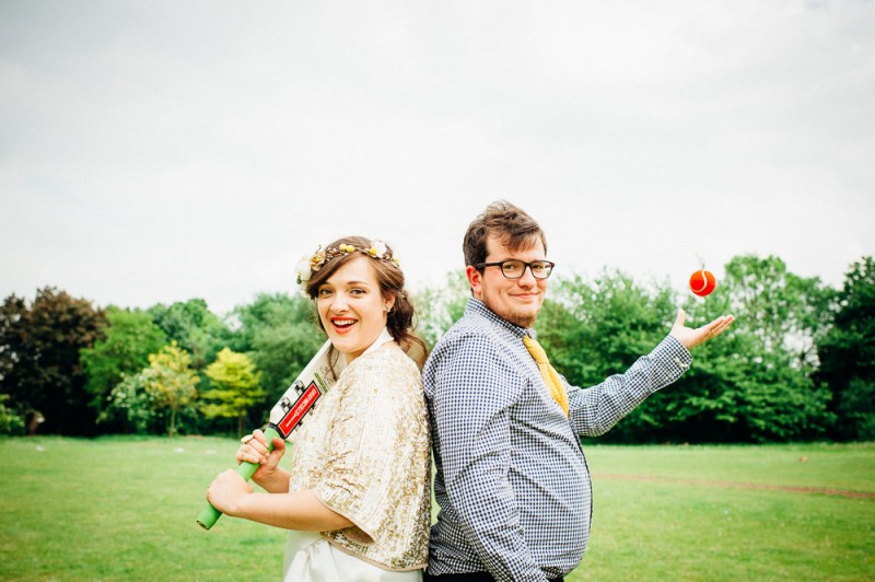 Fun-Loving Couple Throws A Playful, Children's Birthday Party-Themed Wedding 30