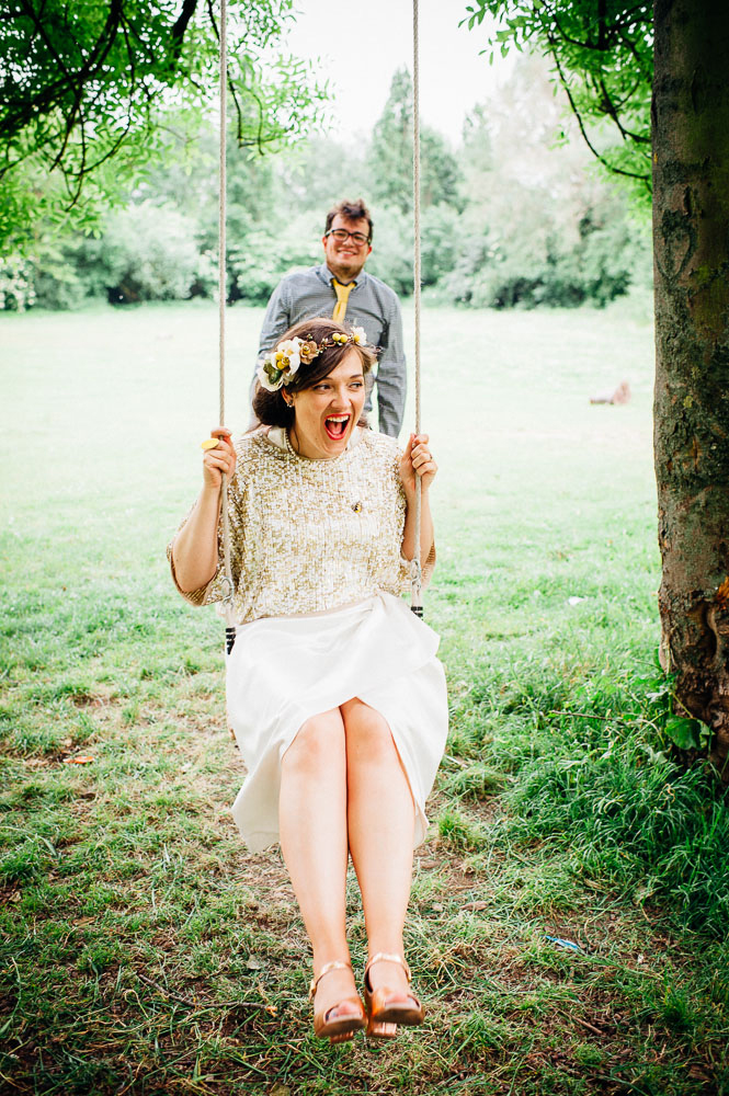 Fun-Loving Couple Throws A Playful, Children's Birthday Party-Themed Wedding 31