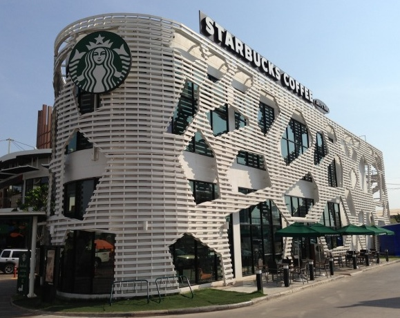 喜歡Starbucks的人不可錯過:全球20家最具特色的Starbucks門市 24