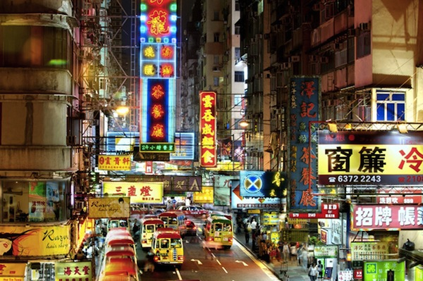 The Dazzling Neon Signs Of Hong Kong 1