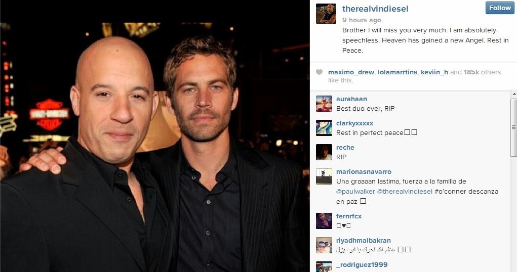 Vin Diesel Opens Up About Death Of Paul Walker 2