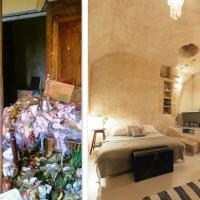 法國情侶用€1歐元買了一個垃圾洞穴,然後改裝成他們的夢想家居  33