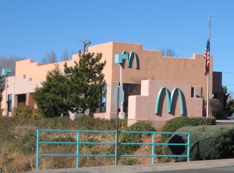 green mcdonalds in arizona 1