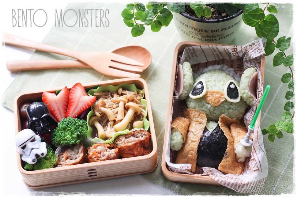 Mothers Prepare Creative Bento Lunches For Her Kids Every Day 2