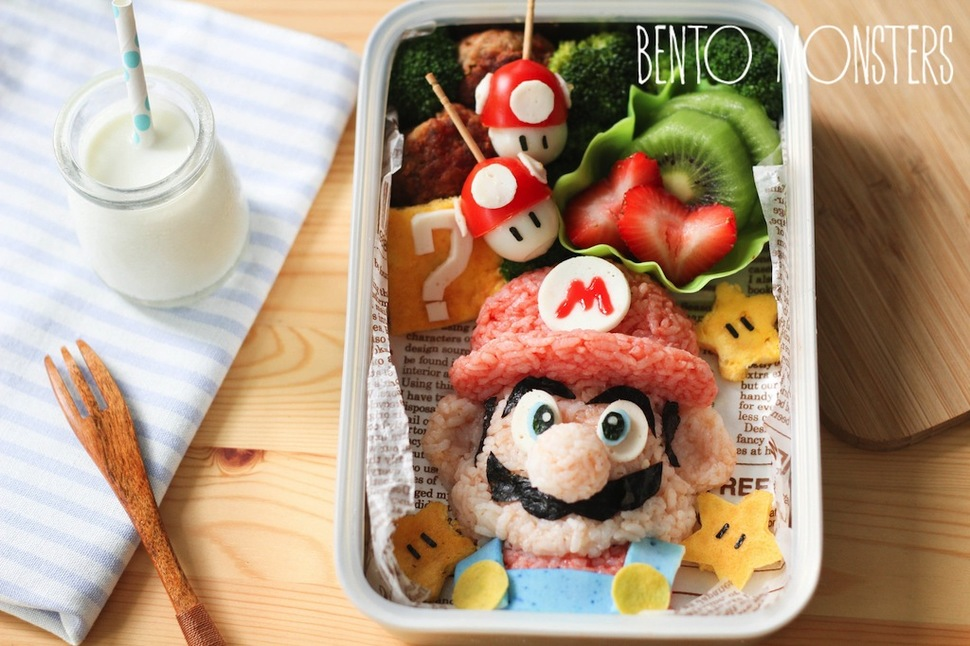 Mothers Prepare Creative Bento Lunches For Her Kids Every Day 8