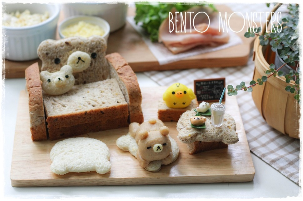 Mothers Prepare Creative Bento Lunches For Her Kids Every Day 11